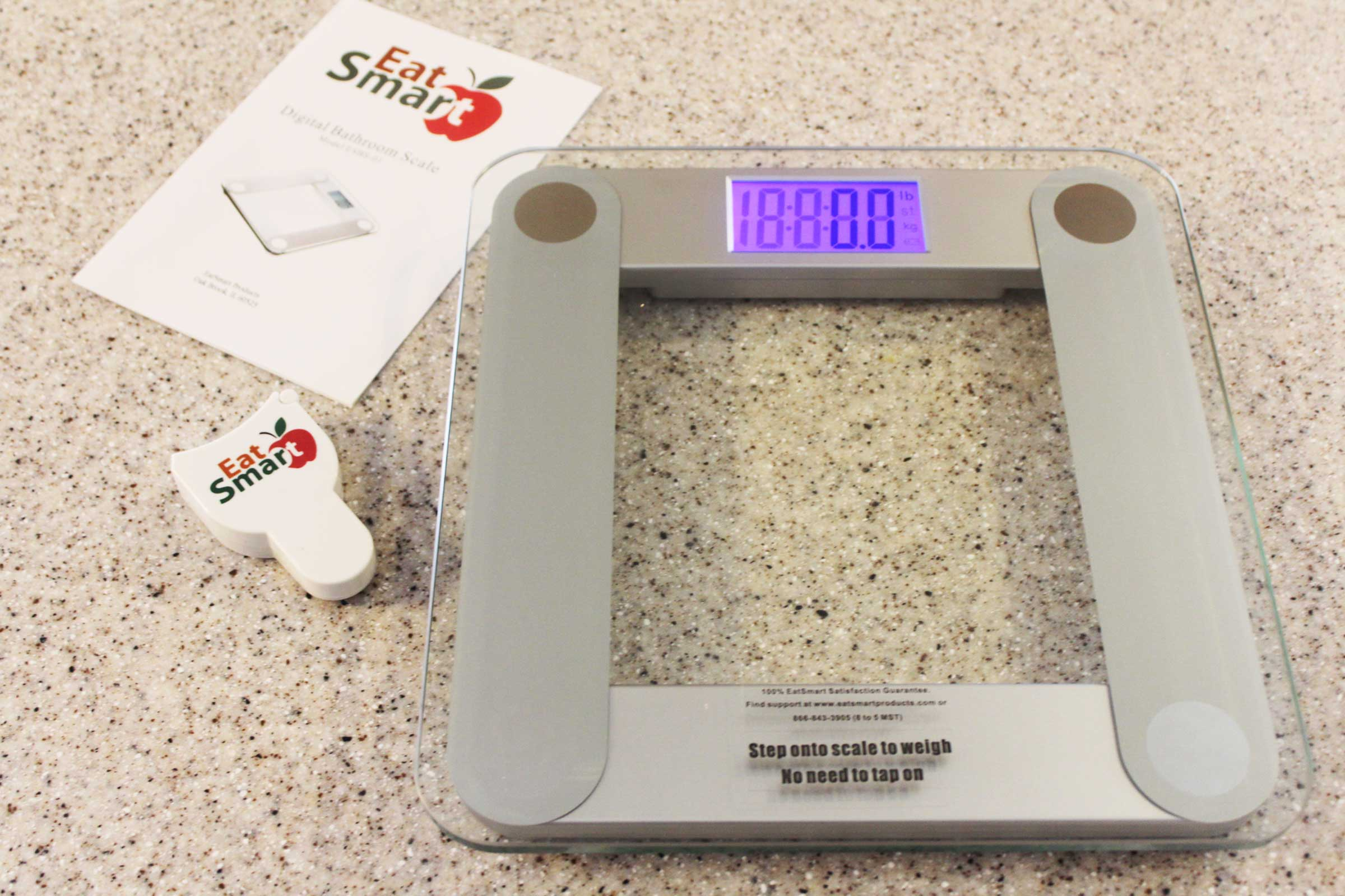 Review eatsmart precision bathroom scale reviews of for Big w bathroom scales